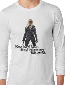 Dinah Laurel Lance Long Sleeve T-Shirt