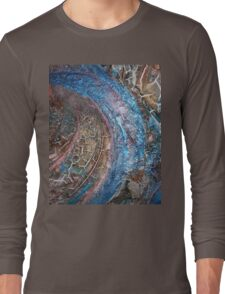BLUE CROCODILE Long Sleeve T-Shirt