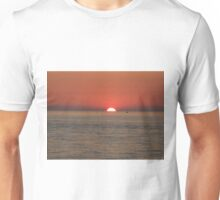 SUNSET, LAKE MICHIGAN Unisex T-Shirt