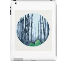 Woodlands circle  iPad Case/Skin