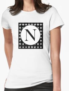 N Bubble Womens Fitted T-Shirt