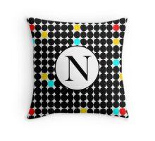 N Starz Throw Pillow