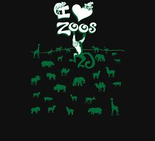 I Love Zoos (green 2016) Unisex T-Shirt
