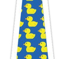 Ducky tie Sticker