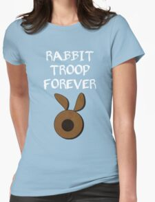 Rabbit Troop Forever Womens Fitted T-Shirt
