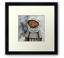 mommy bear /Agat/ Framed Print