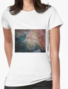 AUTUMN GOLD Womens Fitted T-Shirt