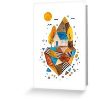 Homey Rock Greeting Card