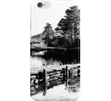 Stone landing iPhone Case/Skin
