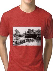 Stone landing Tri-blend T-Shirt