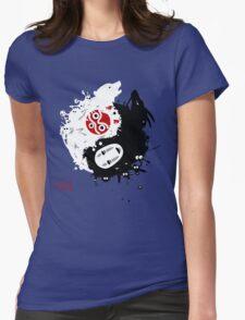 Spirits Yin-Yang Womens Fitted T-Shirt