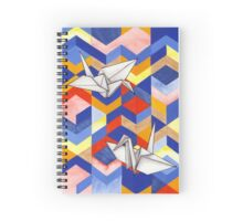 Origami Spiral Notebook