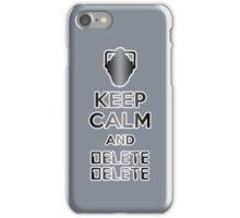 Cyberman Delete Delete iPhone Case/Skin