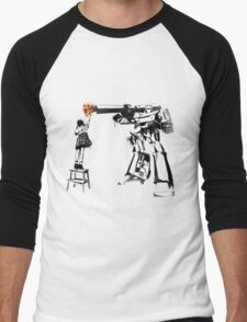 Megatron - Peace Through Botany Men's Baseball ¾ T-Shirt