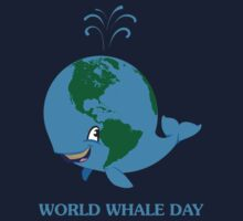 World Whale Day Kids Tee