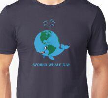 World Whale Day Unisex T-Shirt