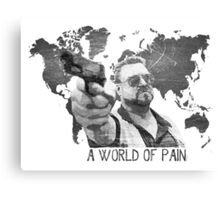 A World Of Pain b Canvas Print