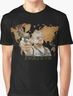A World Of Pain Graphic T-Shirt