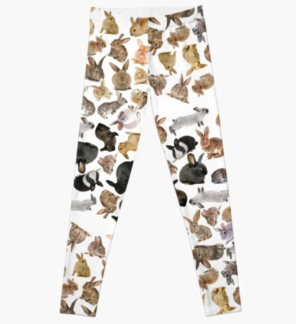 Bunny Rabbit Collage Leggings