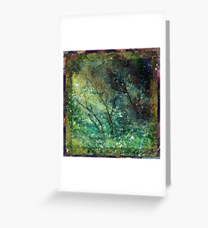 The Shuddering Wood Greeting Card