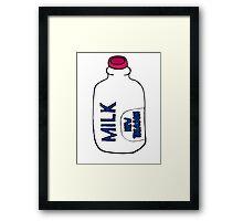 Milk Of New Treason Framed Print