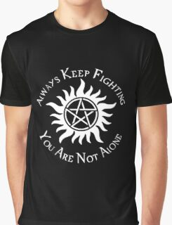 Supernatural Not Alone v2.0 Graphic T-Shirt