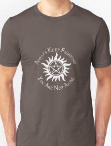 Supernatural Not Alone v2.0 Unisex T-Shirt