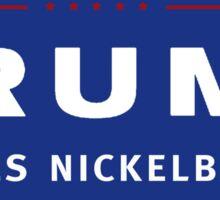 Trump Likes Nickelback! Sticker