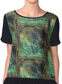 The Shuddering Wood Chiffon Top