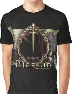 Merlin logo Graphic T-Shirt
