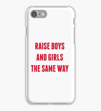 RAISE BOYS AND GIRLS iPhone Case/Skin