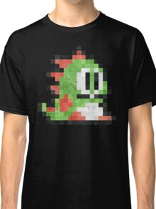 Bubble Bobble Green Dragon  Classic T-Shirt