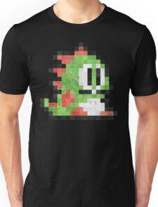Bubble Bobble Green Dragon  Unisex T-Shirt