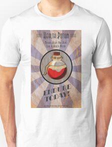 Health Potion Art Deco poster Unisex T-Shirt