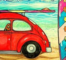 Beach Bug Sticker