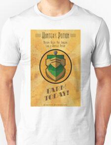 Hunter's Potion Art Deco poster Unisex T-Shirt