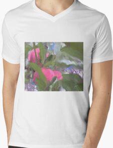 Apple Tree Mens V-Neck T-Shirt