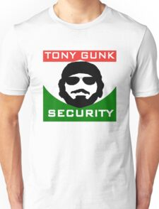 Tony Gunk Security Unisex T-Shirt