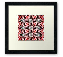 Tilted Kilt Framed Print