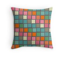 Scenes from the Modernist Loo — grey Throw Pillow
