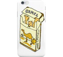 camel cigarette  iPhone Case/Skin