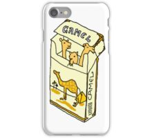 camel cigarette  iPhone Case/Skin