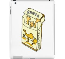 camel cigarette  iPad Case/Skin