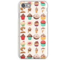Desserts iPhone Case/Skin