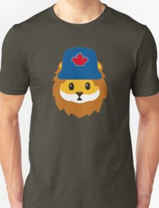 Full Print - Blue Jays No Fear Lion Emoji Unisex T-Shirt