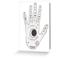 hand Greeting Card