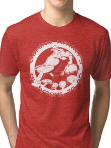 Domino Walker's Mushrooms To Go Tri-blend T-Shirt