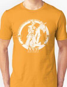 Andy - Intertstellar Bounty Hunter Unisex T-Shirt