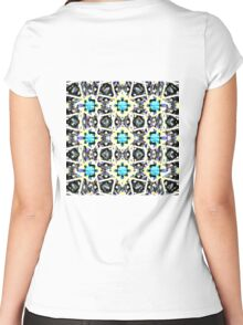 Lotus Box Women's Fitted Scoop T-Shirt