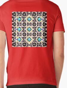 Lotus Box Mens V-Neck T-Shirt
